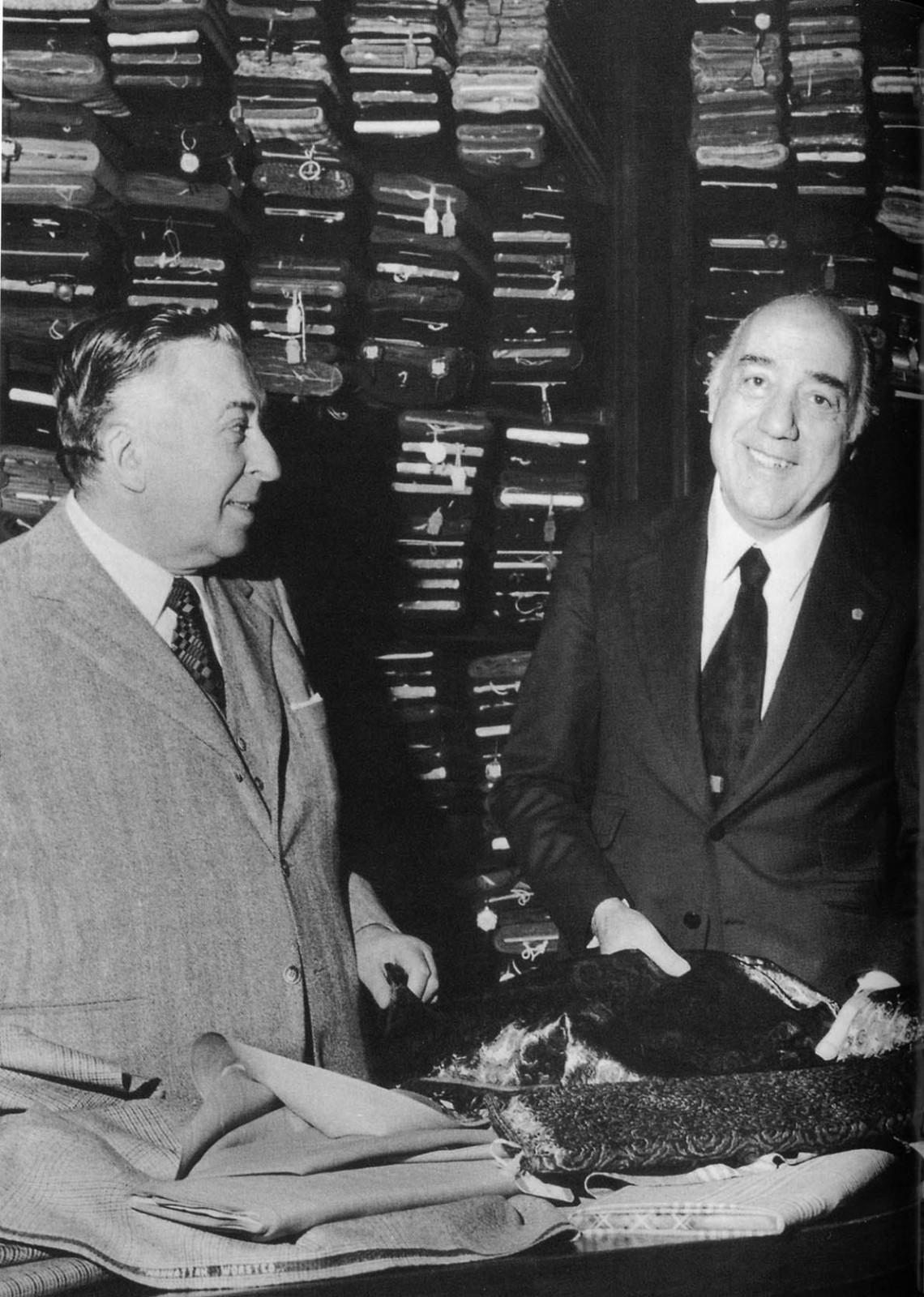 Nazareno Fonticoli et Gaetano Savini