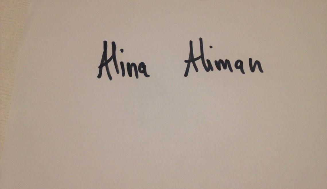 Questionnaire de Proust revizuit și corectat de Alina Aliman