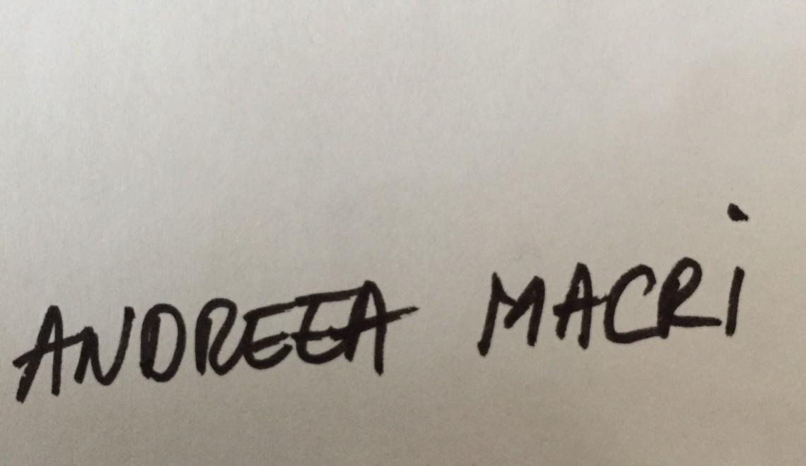 Questionnaire de Proust revizuit și corectat de Andreea Macri