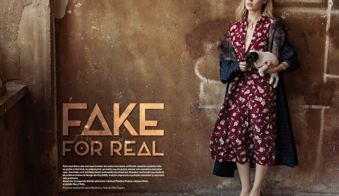 "Forbes Life September ""Fake for Real"""