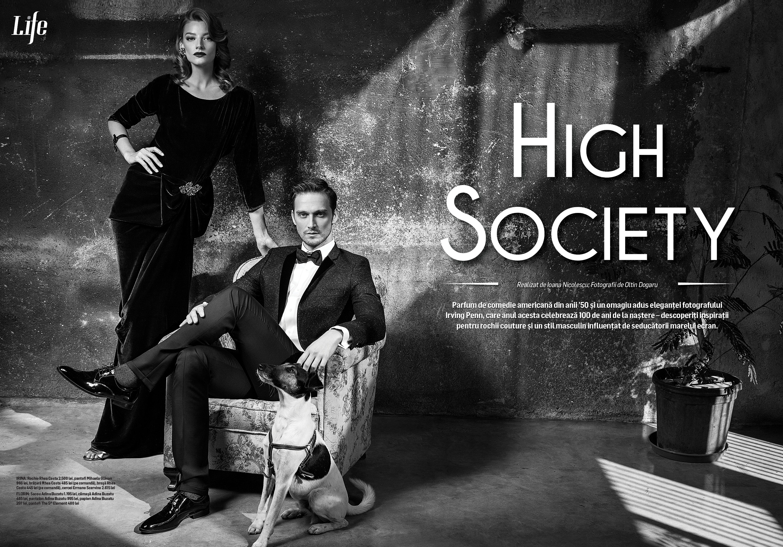 Forbes Life November High Society Code Noir Style