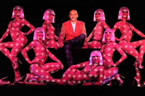 Christian Louboutin Presents 'Feu' At Le Crazy Horse - Showcase & Press Conference