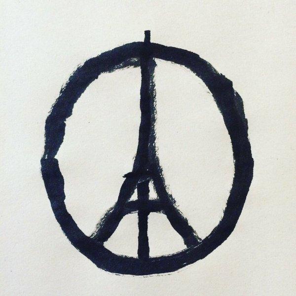 Peace for Paris by Jean Julien