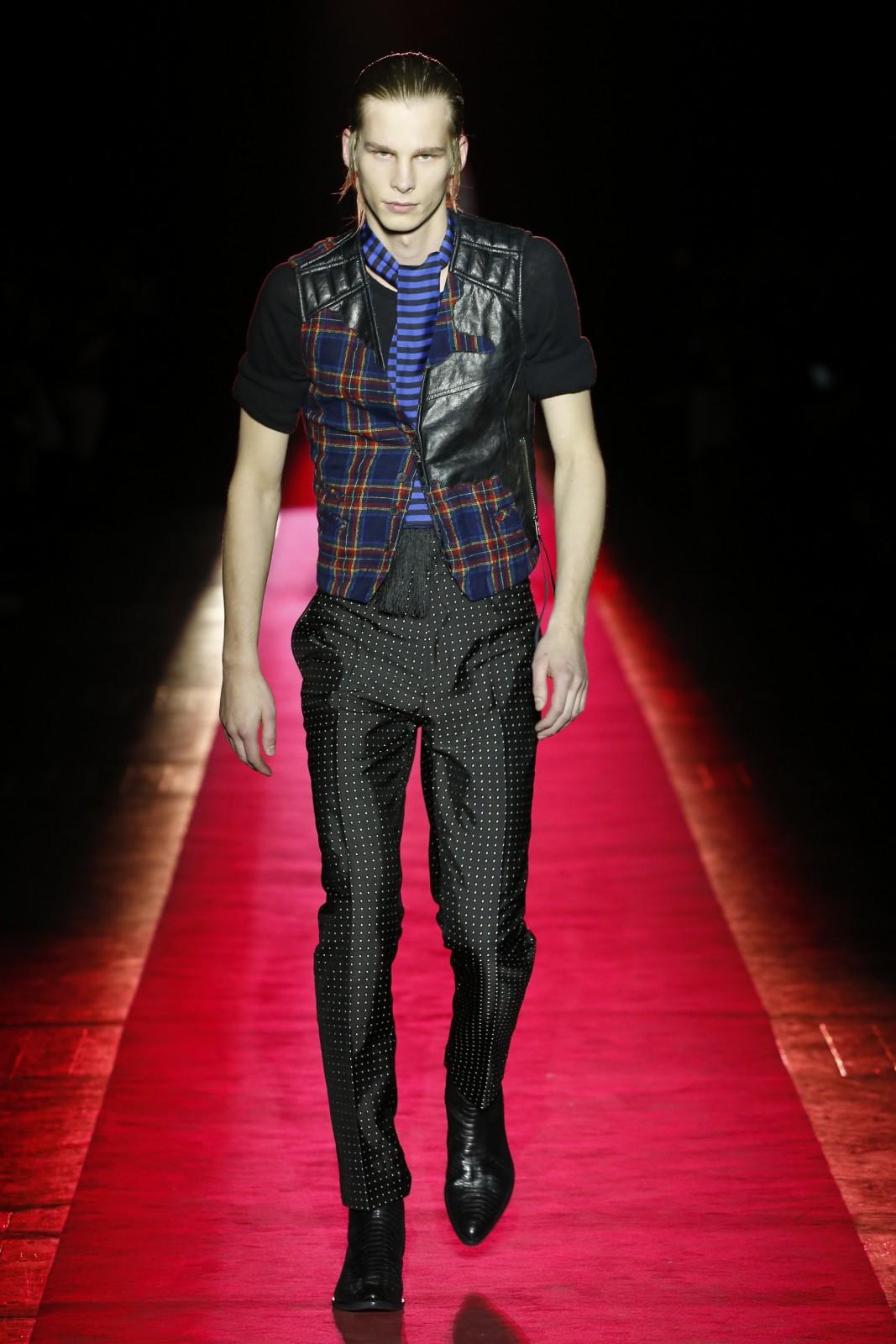 Haider Ackermann Fashion Show Menswear Fall Winter 2017 Collection in Paris