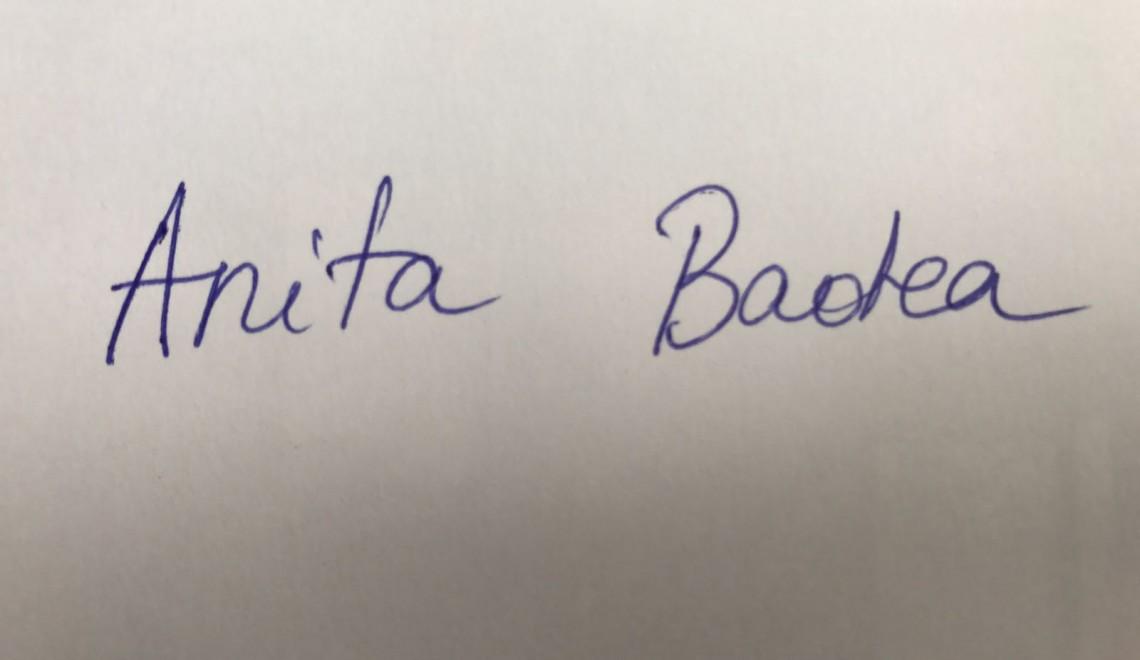 Chestionarul lui Proust revizuit și corectat de Anita Badea