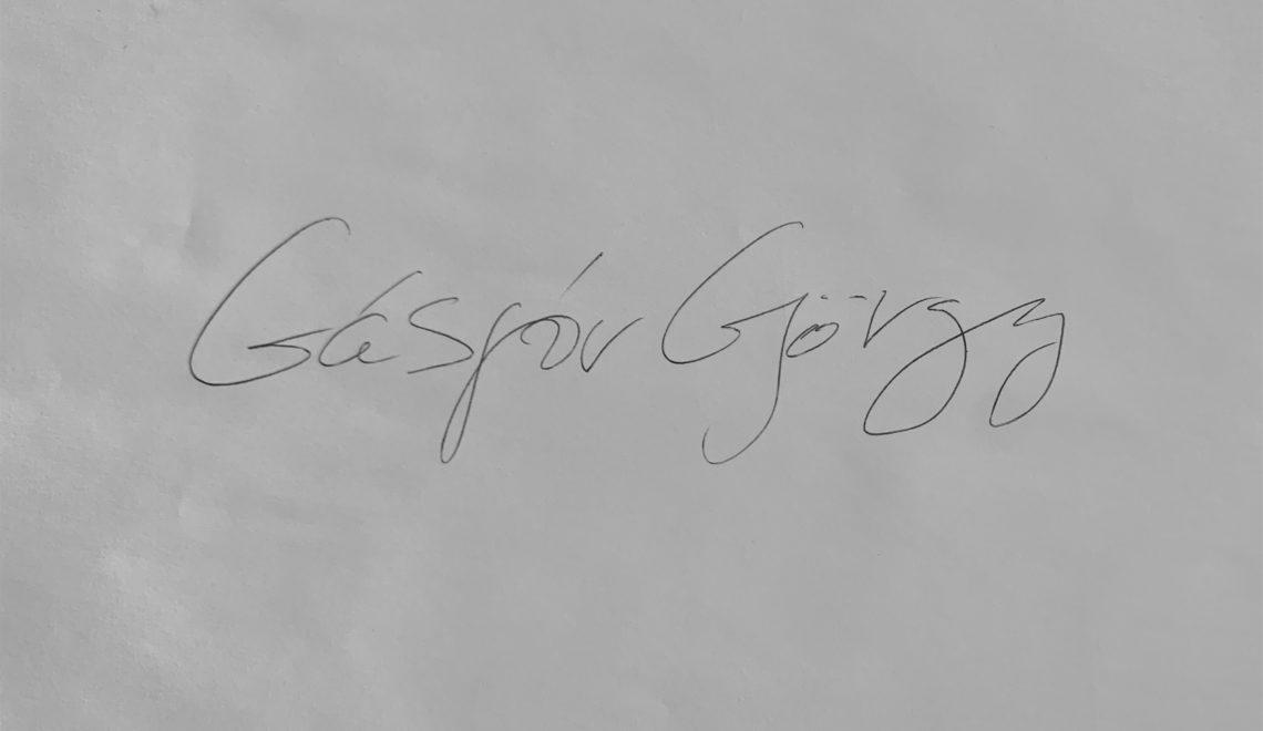 Chestionarul lui Proust revizuit și corectat de Gáspár Gyorgy