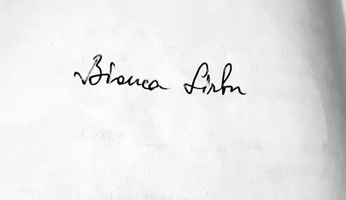 Chestionarul lui Proust revizuit și corectat de Bianca Sîrbu