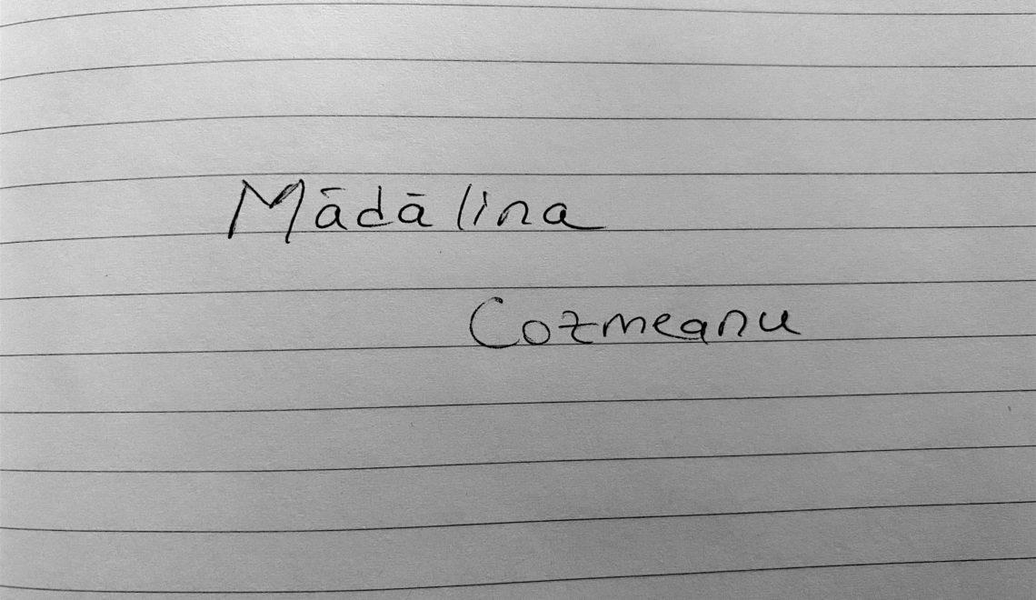 Chestionarul lui Proust revizuit și corectat de Mădălina Cozmeanu