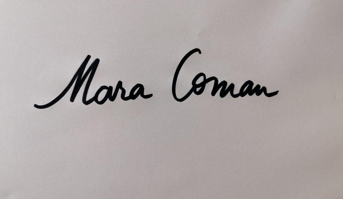 Chestionarul lui Proust revizuit și corectat de Mara Coman